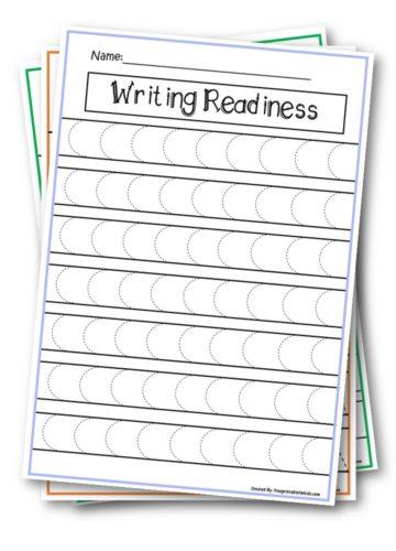 Writing Readiness Pre-K