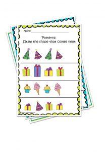 Free printable worksheets for Pre-k