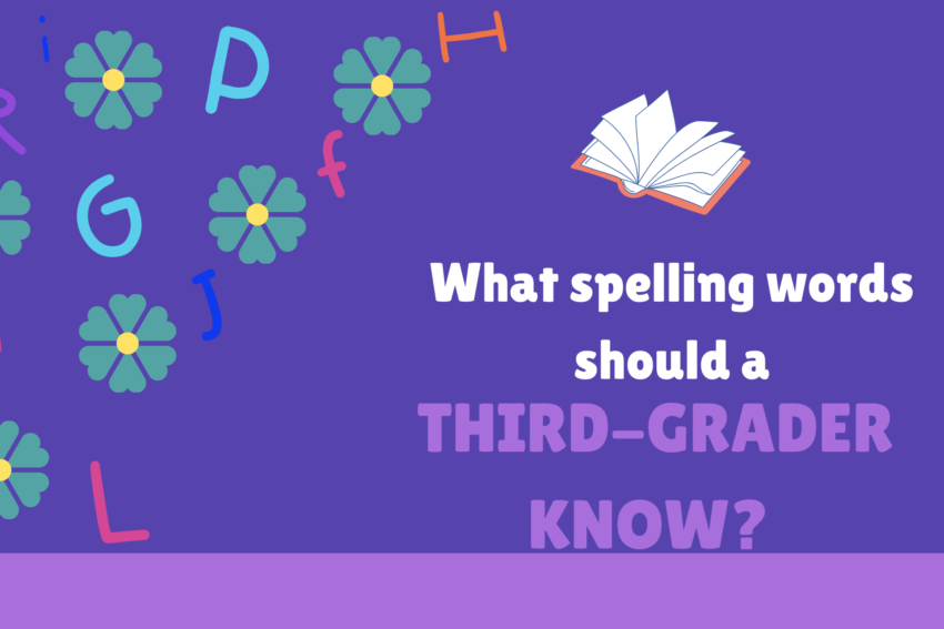 What spelling words should a third-grader know?